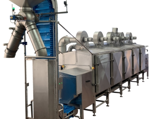 The ECD800 in-line dryer for cereals and extruded PetFood products!